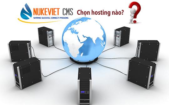 Chọn nhà cung cấp Hosting nào tốt cho NukeViet?